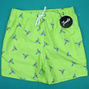 Franks Australia Swim Trunks Tropical Birds NWT